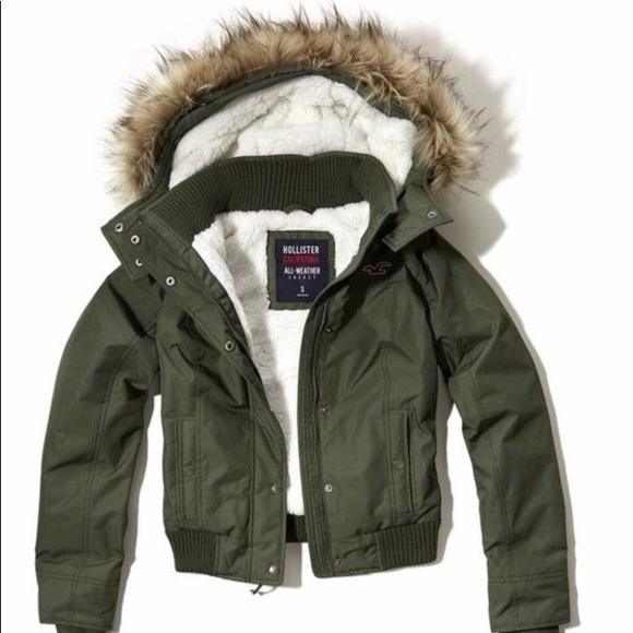 Hollister Jackets & Blazers - Hollister coat